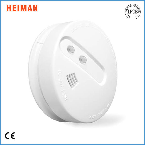 2017 new Heiman AC 220V wireless network infrared smoke detector
