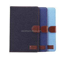 Jeans flip wallet leather case pouch for iPad Pro 9.7
