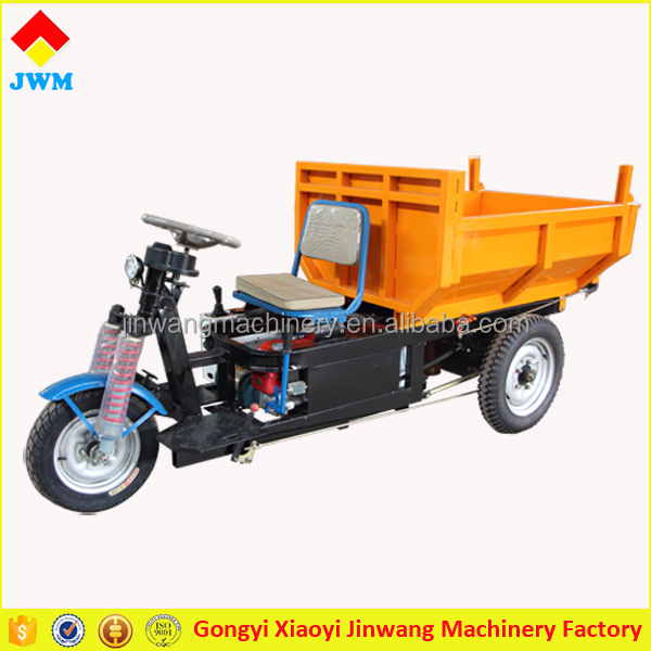 ISO approved high quality strong power 1000W 48V truck cargo tricycle