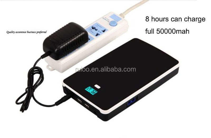 Mutifuctional 12V 3.5A power bank 20000mah for portable audio laptop auto start power and emergency power