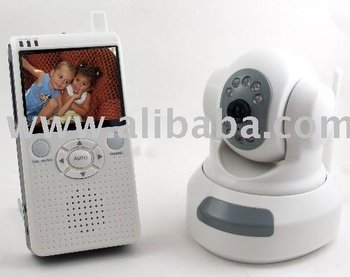 NEW & Improved Pan/Tilt Wireless Baby Monitor