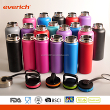 Everich Promotional 32OZ 64OZ Customized Insulated vacuum insulated stainless steel water bottle