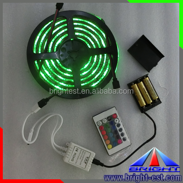 BG- 5V led strip 5050 RGB flexible led strip light,battery powered led strip SMD3528