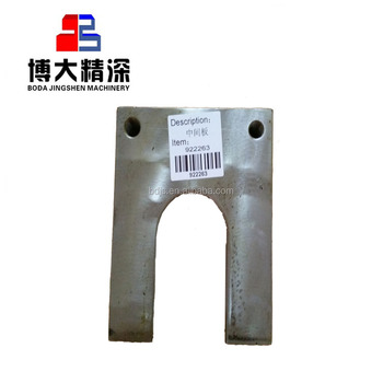 C63 intermediate plate adapt to metso jaw crusher spare parts