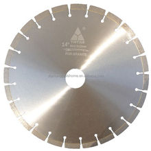 YINTIAN MADE 350mm Diamond Saw Blade For Granite ISO9001:2008