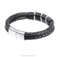 SB07220017 2015 fashion woven bracelet friendship china factory 316l stainless steel jewelry