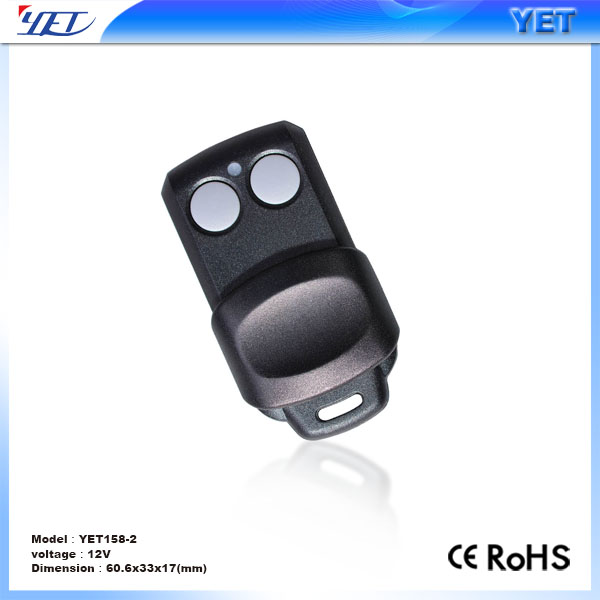 Gate Door Opener Wireless Remote Control learning code HS1527 433mhz YET042-v2.0