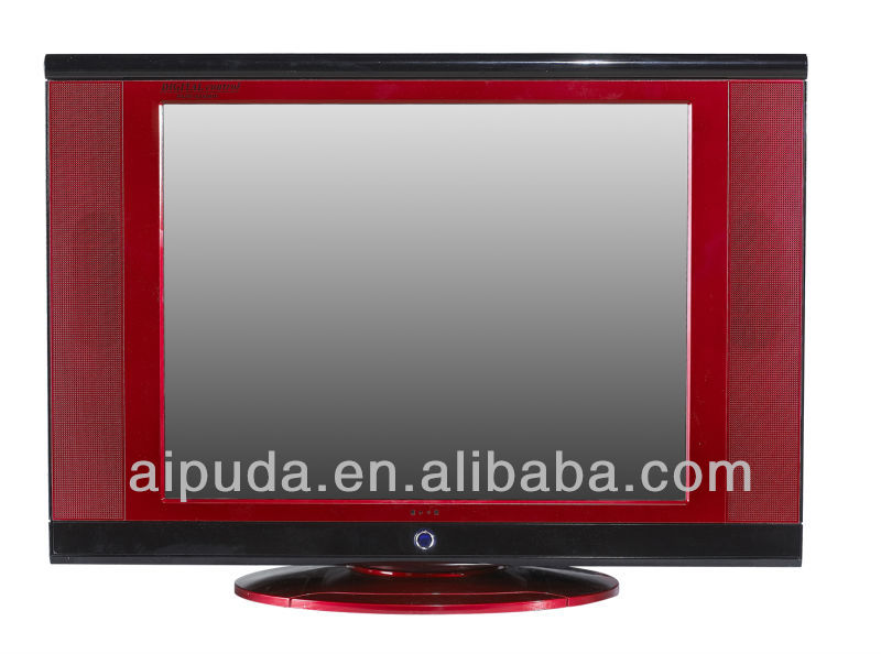 Family use Ultra slim Samsung tube color tv with rotaying base