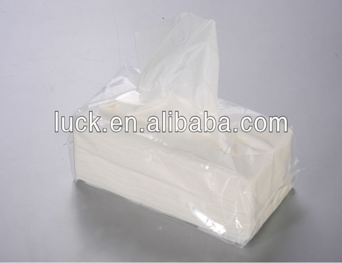 Supermarket promotional soft thickness paper tissue 100%