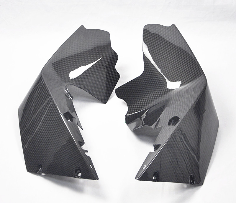 NEW MOTORCYCLE CARBON FIBER MID UPRIGHT FAIRING PANEL FOR KTM RC8 RC8R 1190 RC 8 R