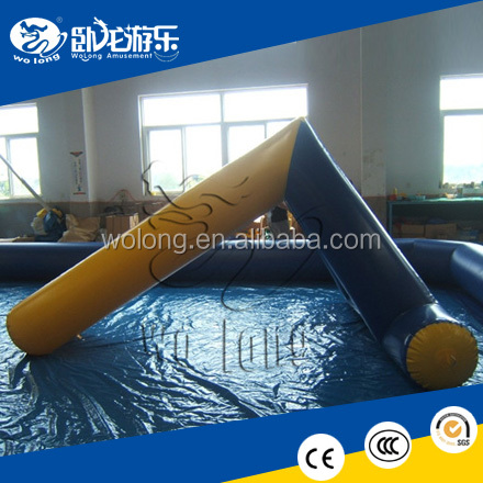 high quality floating inflatable aqua game, inflatable water sport equipment
