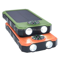Promotional Solar Panel Power Bank Mobile