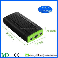 Portable Car Jump Starter Lithium-ion Battery