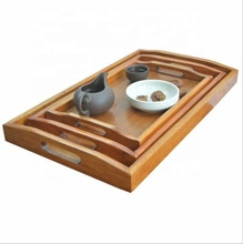 Best Selling Environmental Protection Rectangle Wooden Tray Many Sizes Wooden <strong>Plate</strong>