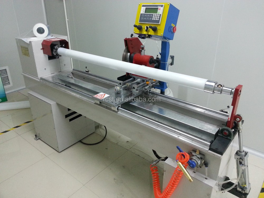 Automatic Core Cutter for paper core, tube, tapes