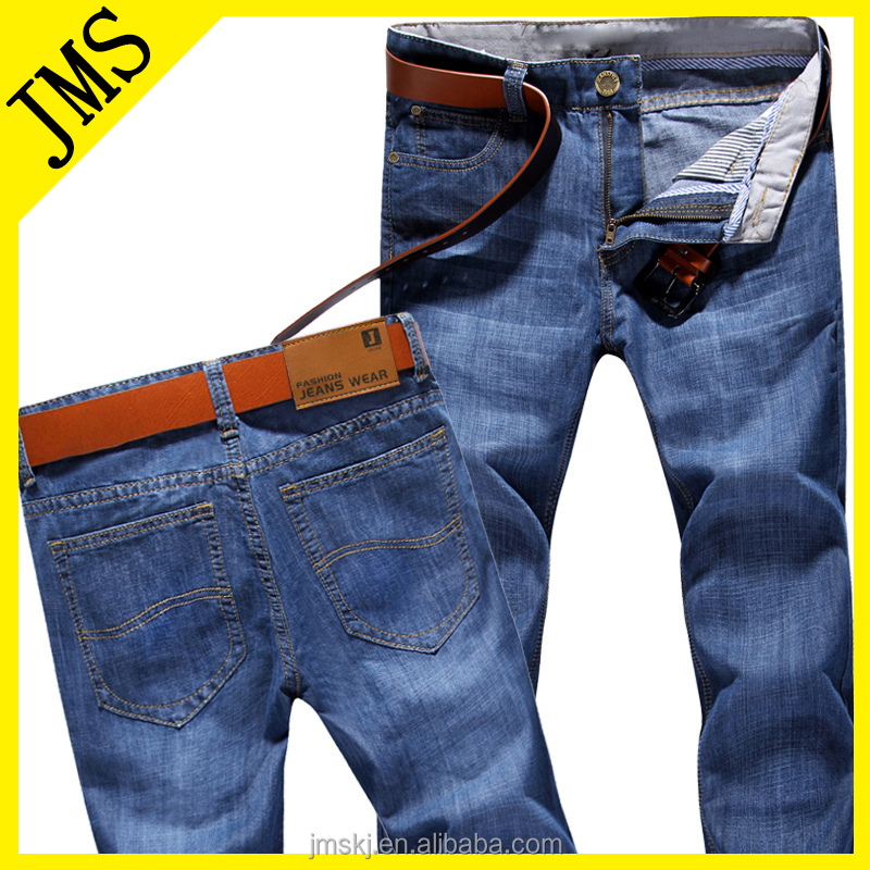 Factory Wholesale High Quality Cheap Adult Jeans Men Denim Trousers 2016
