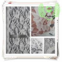 Hot dresses guipure lace cotton fabric with flower