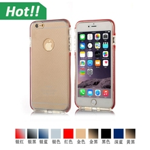 2015 New Soft Super 0.3mm Ultra-thin Clear TPU Case For iPhone 6 plus Brand Crystal Back Cover Protect Skin Silicon
