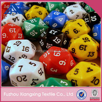 2014 new hot sale polygon dice custom printed dice blank dice