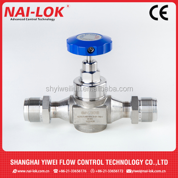 High Pressure 414 bar Bellow Valves Nylon Handle