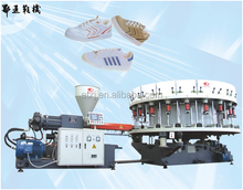 Single Double Color Shoe Sole Molding Machine