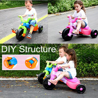 New Modle Hot Multi Colors Plastic Child Tricycle Three Wheeler
