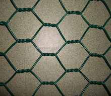 Factory Supply Environmental Pvc Coated Hexagonal Wire Mesh Fencing for Animal