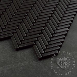 Competitive price Strip Blues vitrified tiles with price 2012