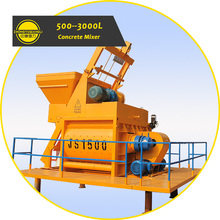 Sale Price 1 to 3 Cubic Meter Electric Motor Ready Mix Concrete Mixer Machine with Lift