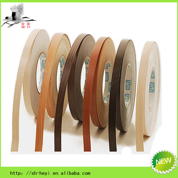 Good quality woodgrain pvc edge band for bedroom furniture in Russia market