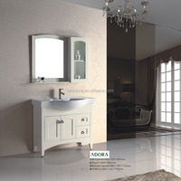 Modern design solid wood bathroom vanity cabinet was made of solid wood