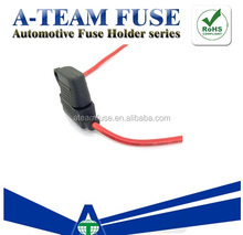 Taiwan Made auto inline blade fuse holder 18 AWG ATC type auto fuse holder