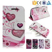 Fashion flash powder with card slots pu leather wallet case for Meizu M2 note2
