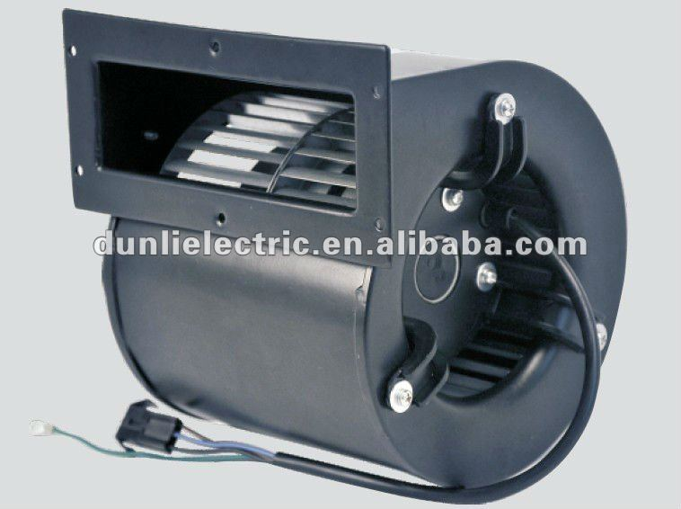 Centrifugal blower forward curved dual inlet fans 120mm