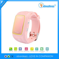 2014 Hot Sale Kids Wrist Watch Unlocked Cell Phone GPS Tracker GSM GPRS SOS Wrist Watch SmartPhone