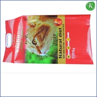 custom printing dog / pet food packaging ziplock /pet dog food bag with resealable zipper
