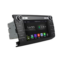 Klyde with gps navigation for Suzuki swift car dvd player 1024*600 resolution touch screen