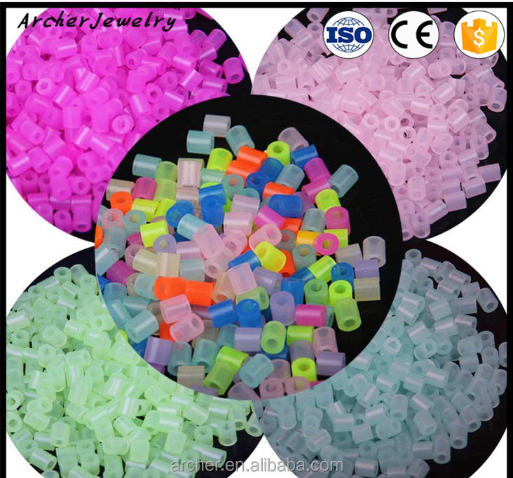 hot china products wholesale luminous glow in the dark hama perler beads DIY-039