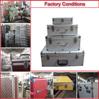 2014 New design High Quality Aluminium Tool Suitcase Made in China