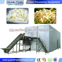 IQF china manufacturer used blast freezers for sale frozen french fries making machine