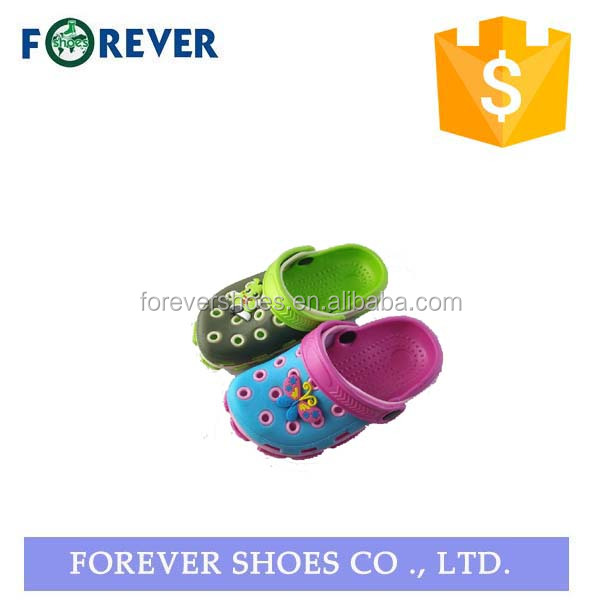 rubber kid colors clogs sandal shoes