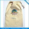 Eco drawstring grocery cotton bag