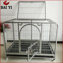 Factory Direct Supply Square Tube Dog Kennel and Wire Metal Material Pet Exercise Puppy Cage