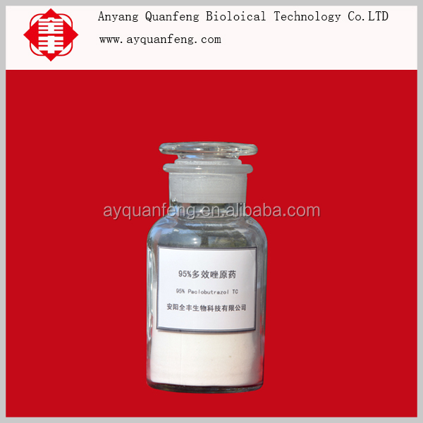 Plant growth regulater Paclobutrazol price 25% SC 20%WP 15%WP High quality with low price