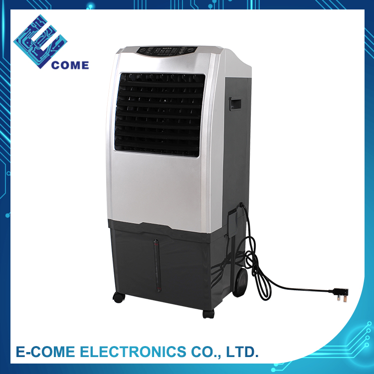 ST-848 silver evaporate water stand cooling fan air cooler with ice box