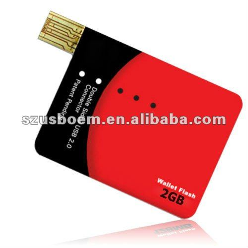 New Style!!! Credit Card usb 2.0 flash drive