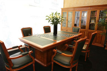 Wooden Conference Room Tables,Classic Conference Room Chairs,Antique Conference  Table(BF08