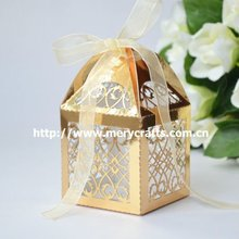 "Hot sale! laser cut ""filigree"" Christmas glitter gift box from Mery Crafts"