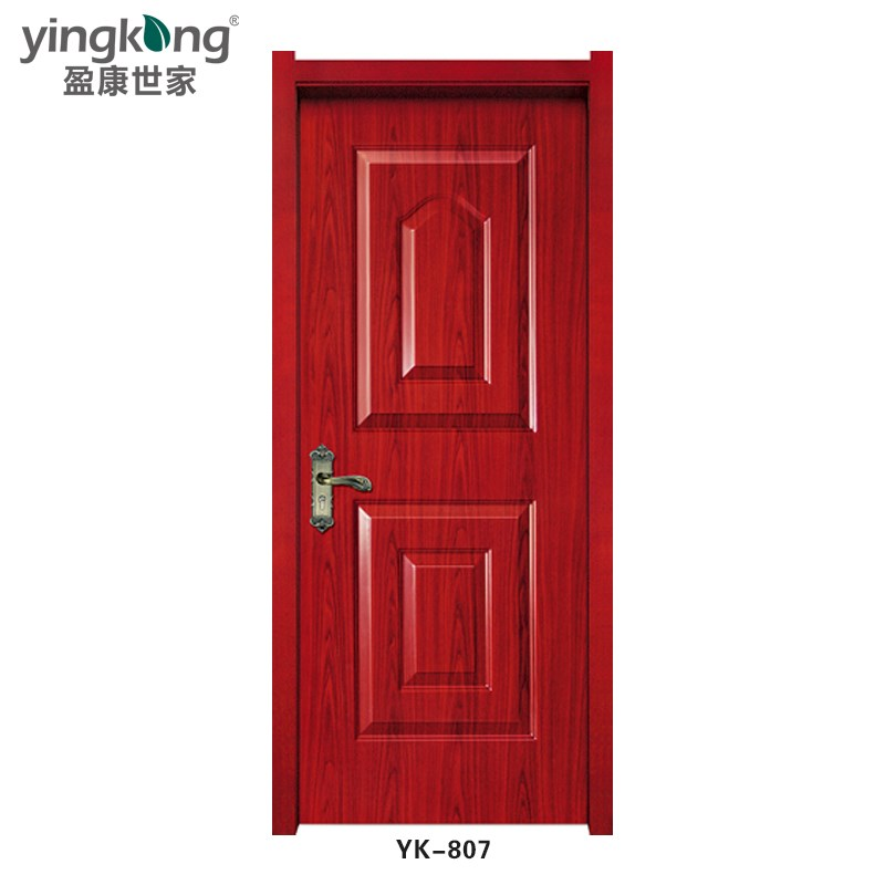 Yk807 hot sale latest design pvc wpc bathroom interior for Pvc bathroom door designs