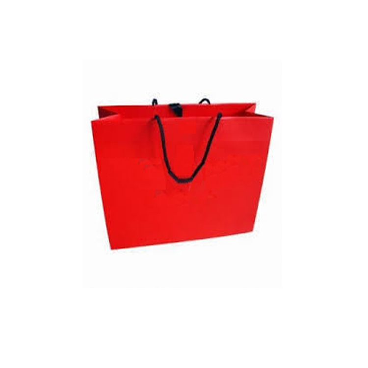 Fashion recycle big red shopping bag in United Kingdom Hot sale
